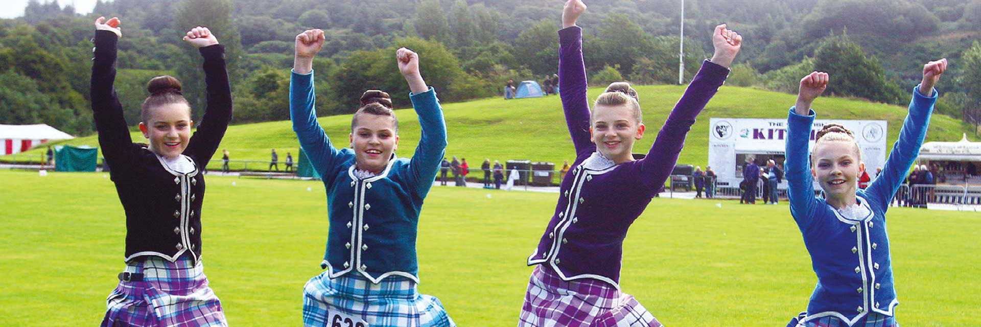 Highland Dance competitions are an Oban Games highlight