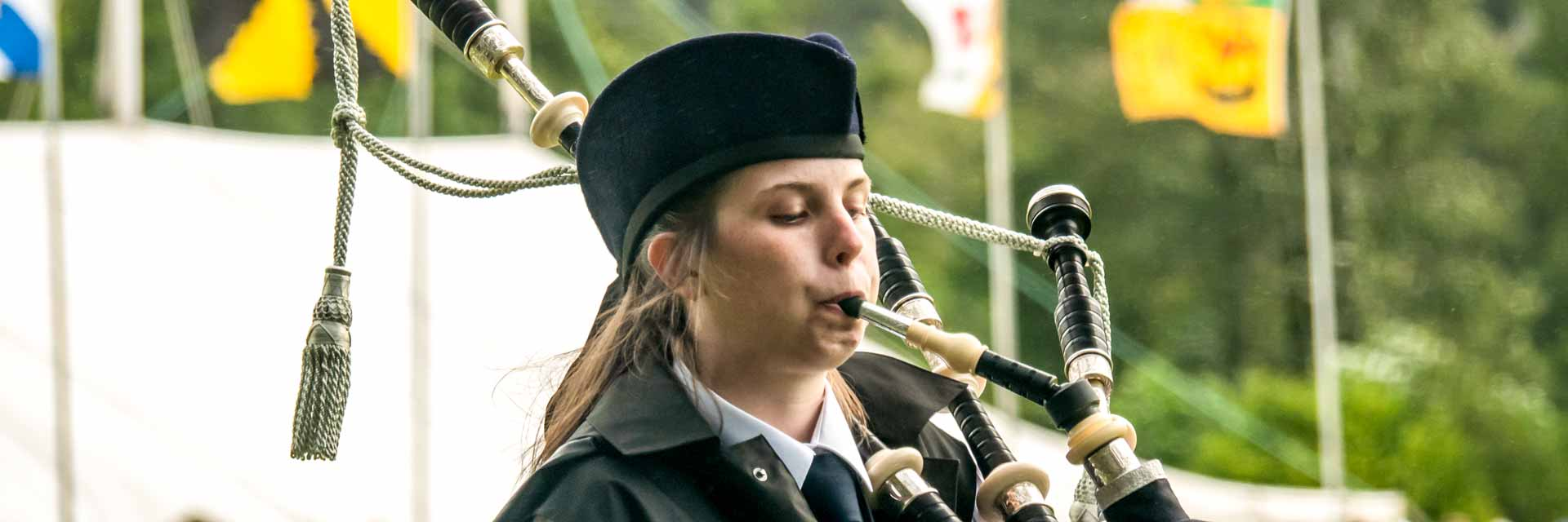 Argyllshire Gathering Piping Competition - two days of piping excellence