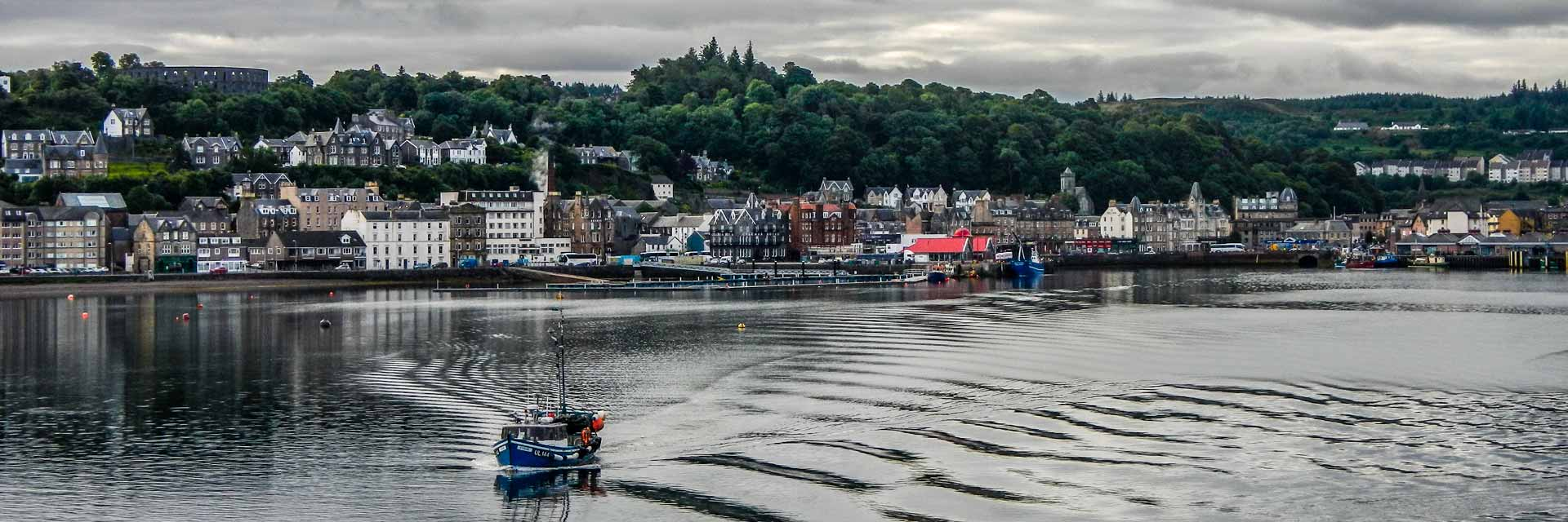 Oban - Seafood Capital of Scotland and the Gateway to the Isles