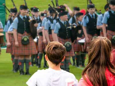Argyllshire Gathering Piping Competition
