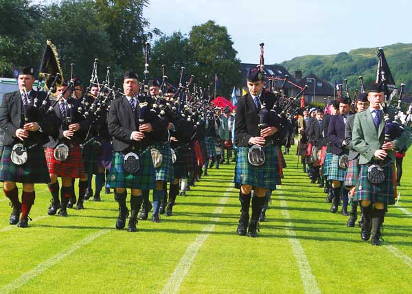 the Argyllshire Gathering Oban Games will not take place in August 2020