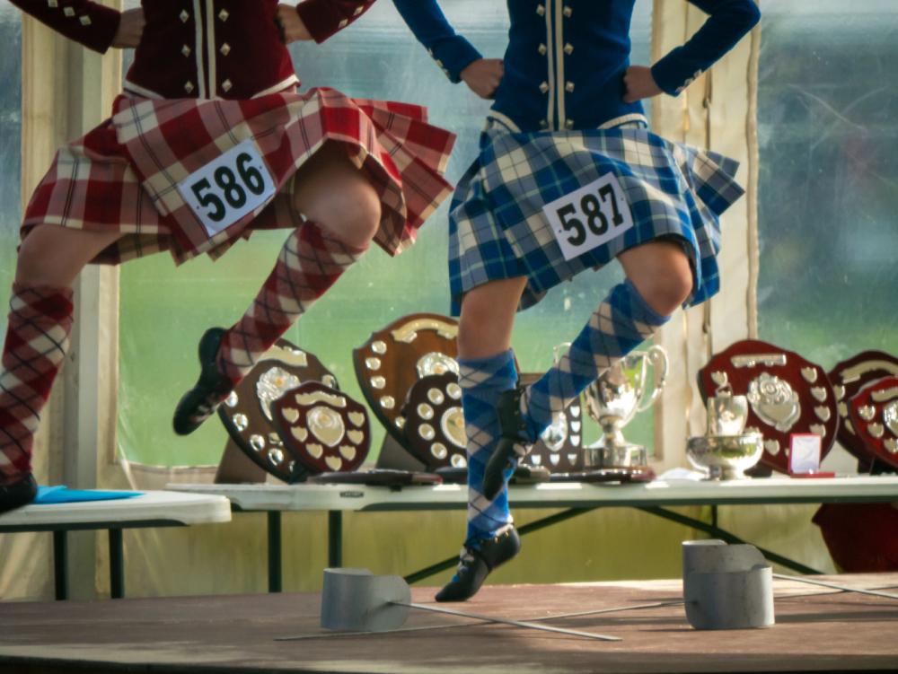 Oban Games Highland Dance
