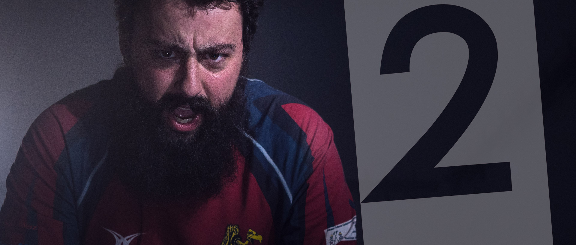 Sponsoring-Teaser für den Rugby Club Würenlos. Wer will sich mit den harten Jungs messen?