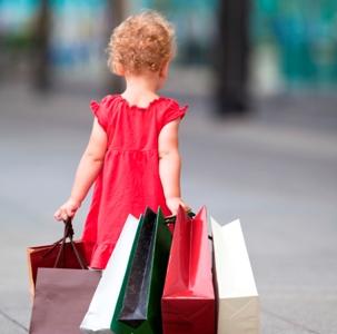 El materialismo en niños y adolecentes