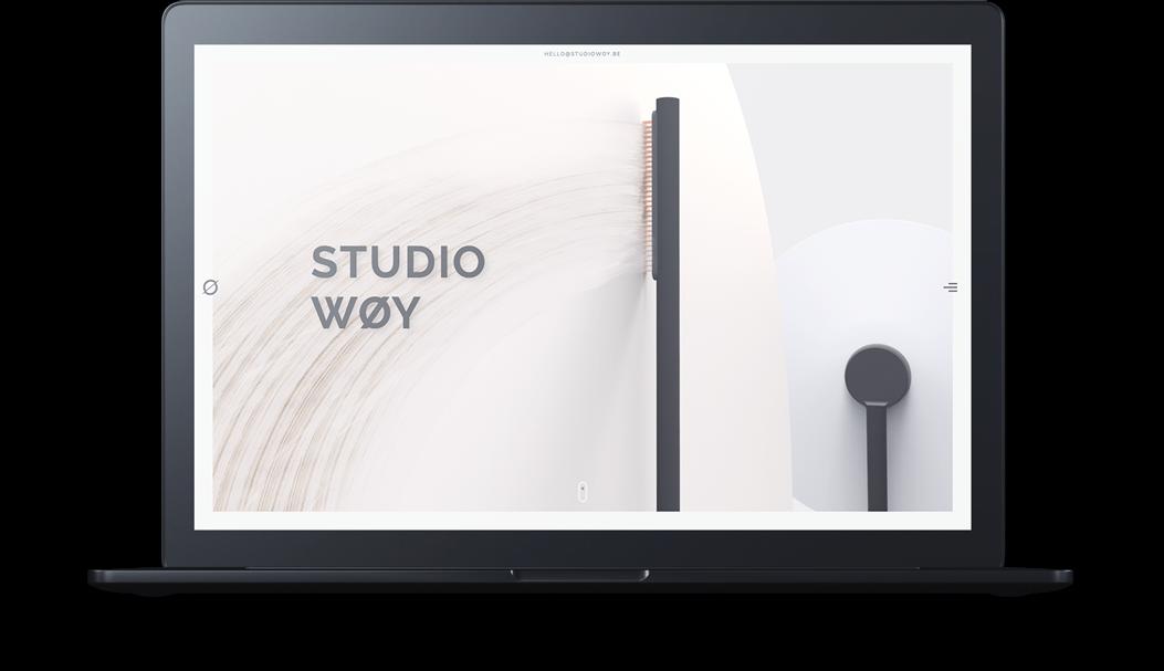Website Design Studiowoy Desktop
