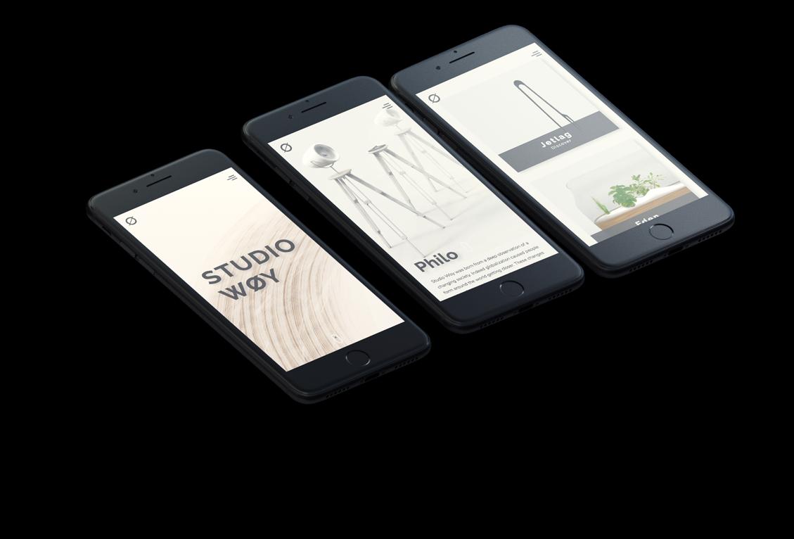 Website Design Studiowoy Mobile