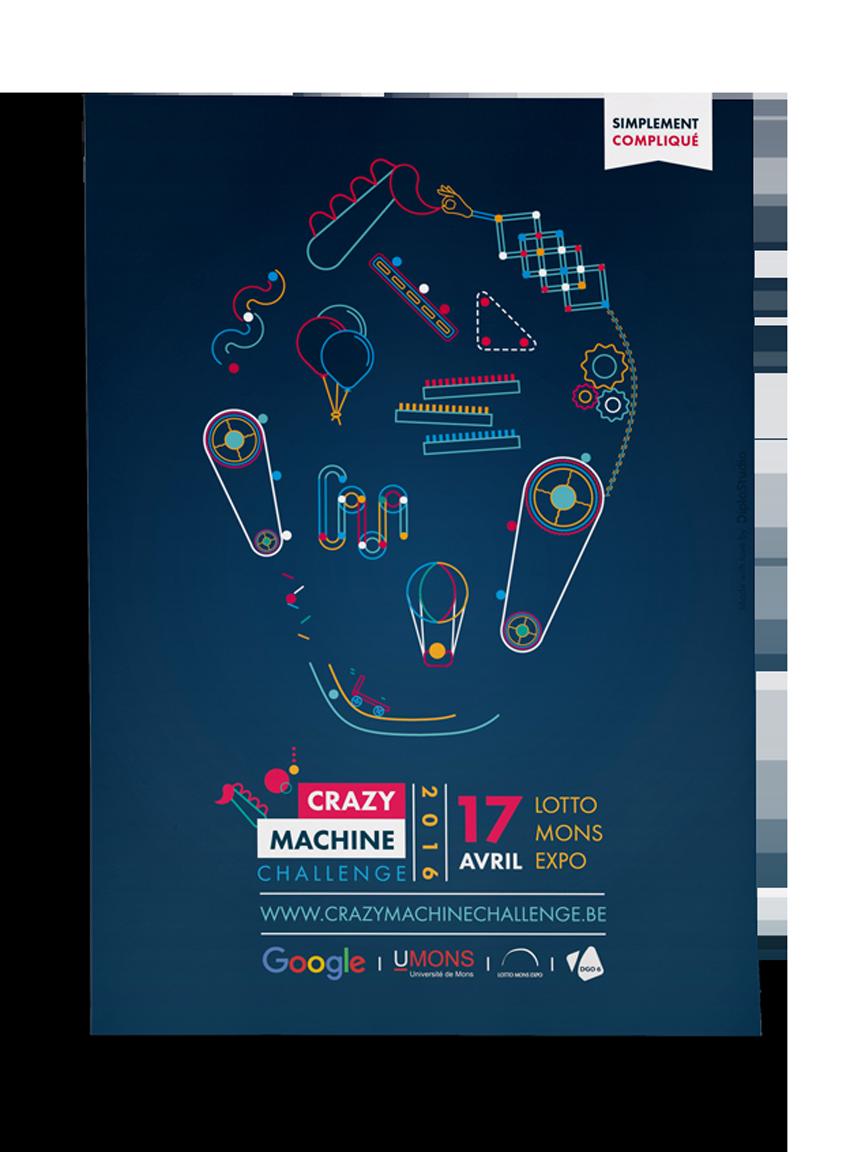 Affiche Crazy Machine Challenge 2016