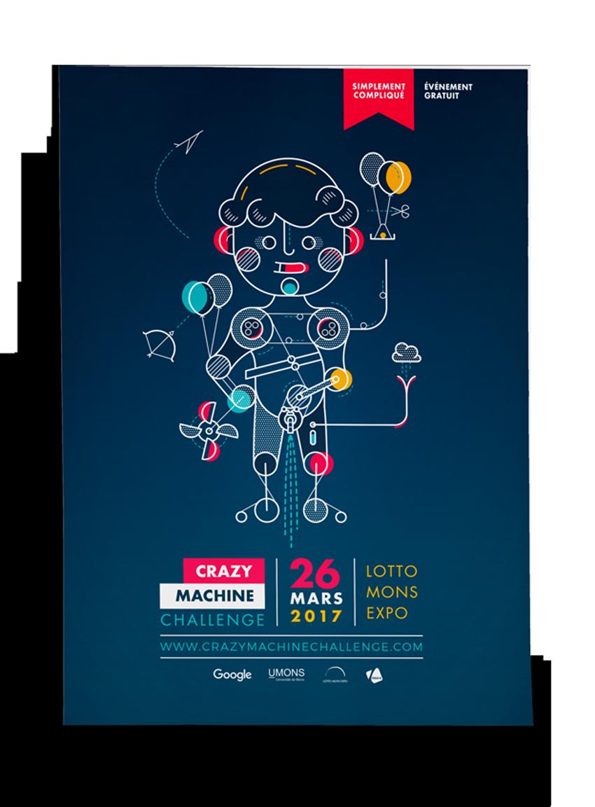 Affiche Crazy Machine Challenge 2017
