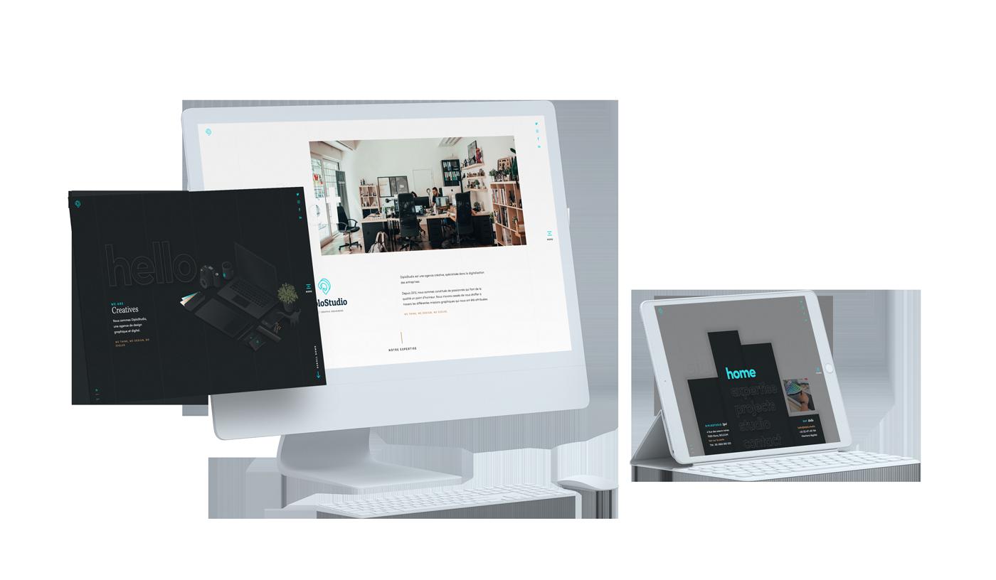 Website design responsive