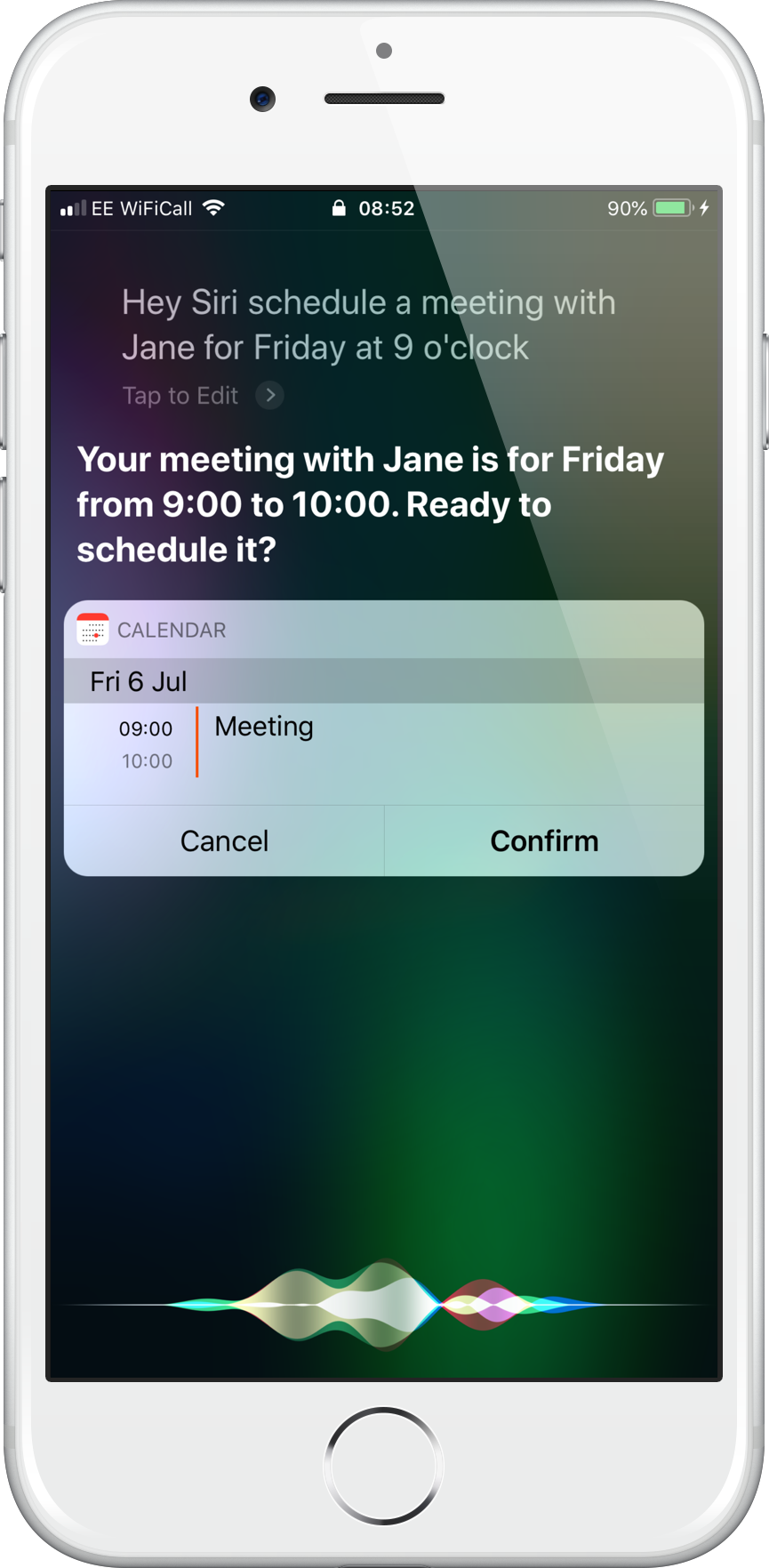 How to use Siri with the Calendar | Siri User Guide