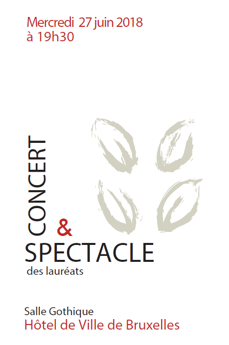 Spectacle des lauréats 2018