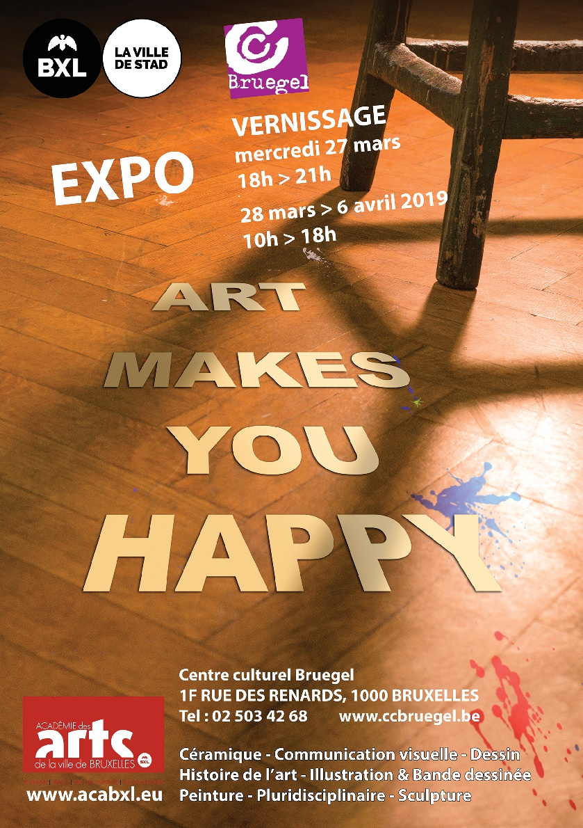 Art Makes You Happy @ Centre Culturel Bruegel