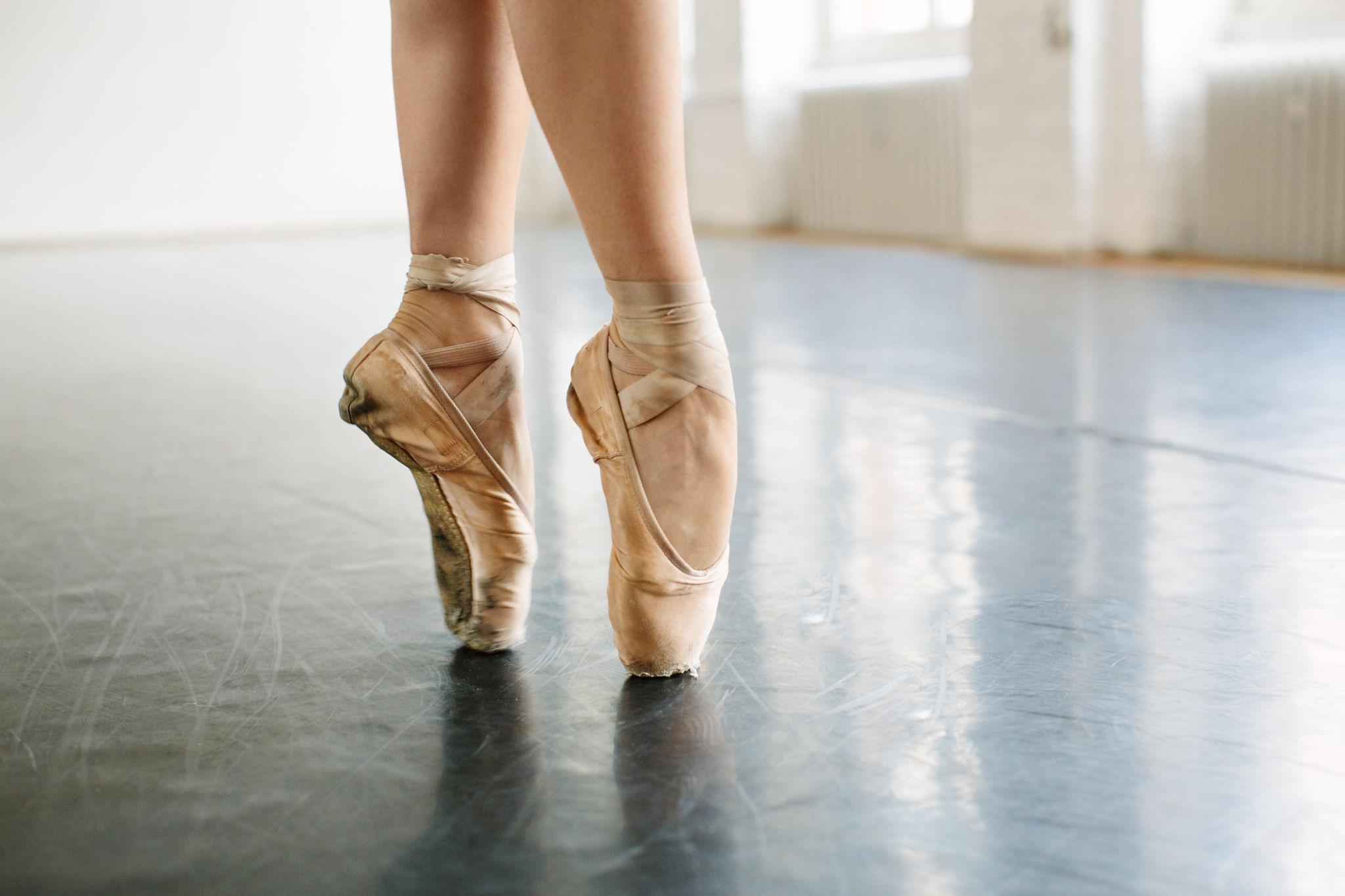 Petite représentation de danse classique @ Sablon