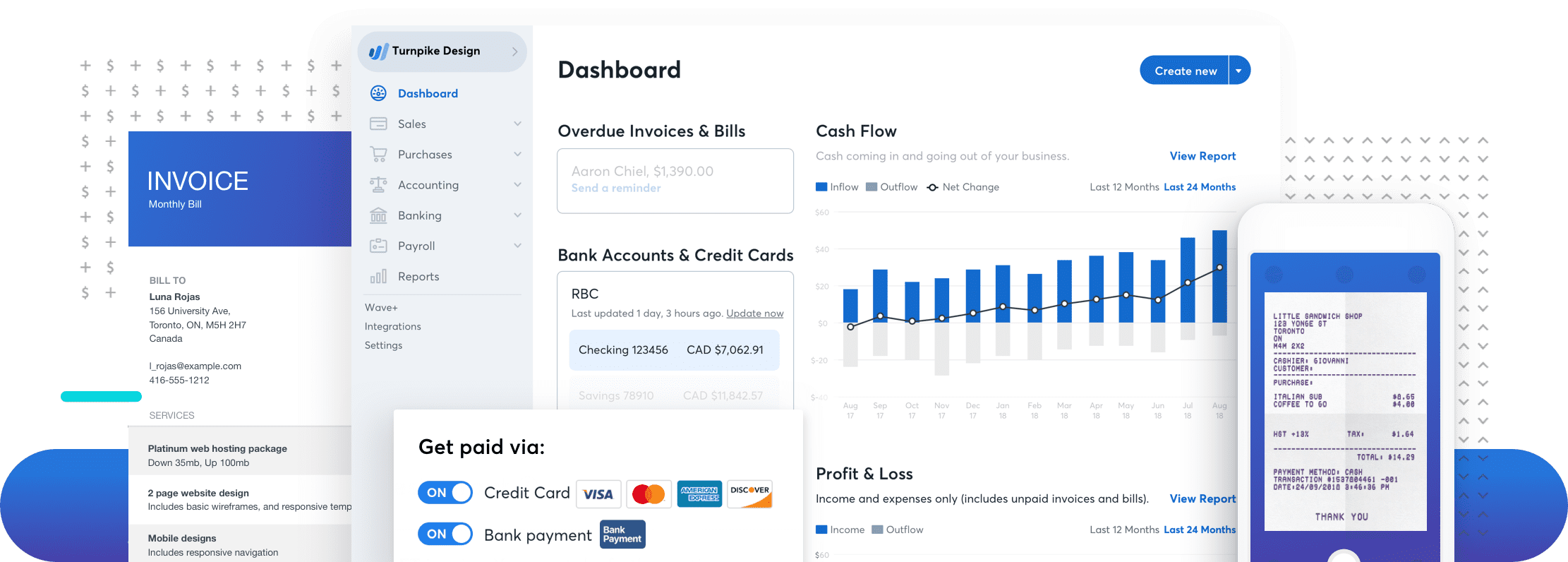 Wave Accounting App