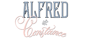 Alfred and Constance (A & C) Logo