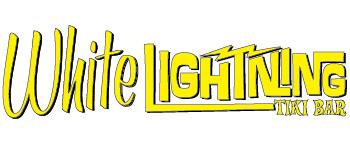 White Lightning Tiki logo
