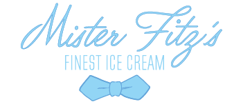 London's Mister Fitz's Finest Ice Cream branidng by Giant Squid Creative