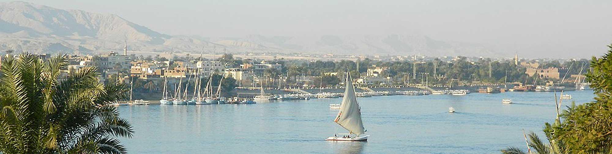 Egyptische Nijldelta bedreigd door opwarming aarde