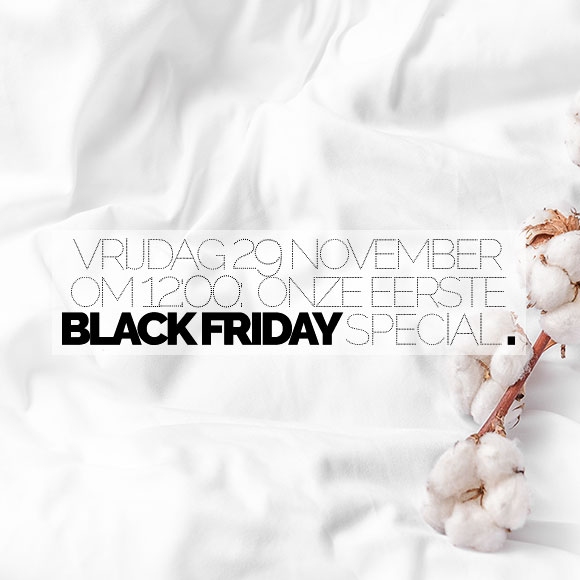 BLACK FRIDAY WEEKEND: tot 20% korting