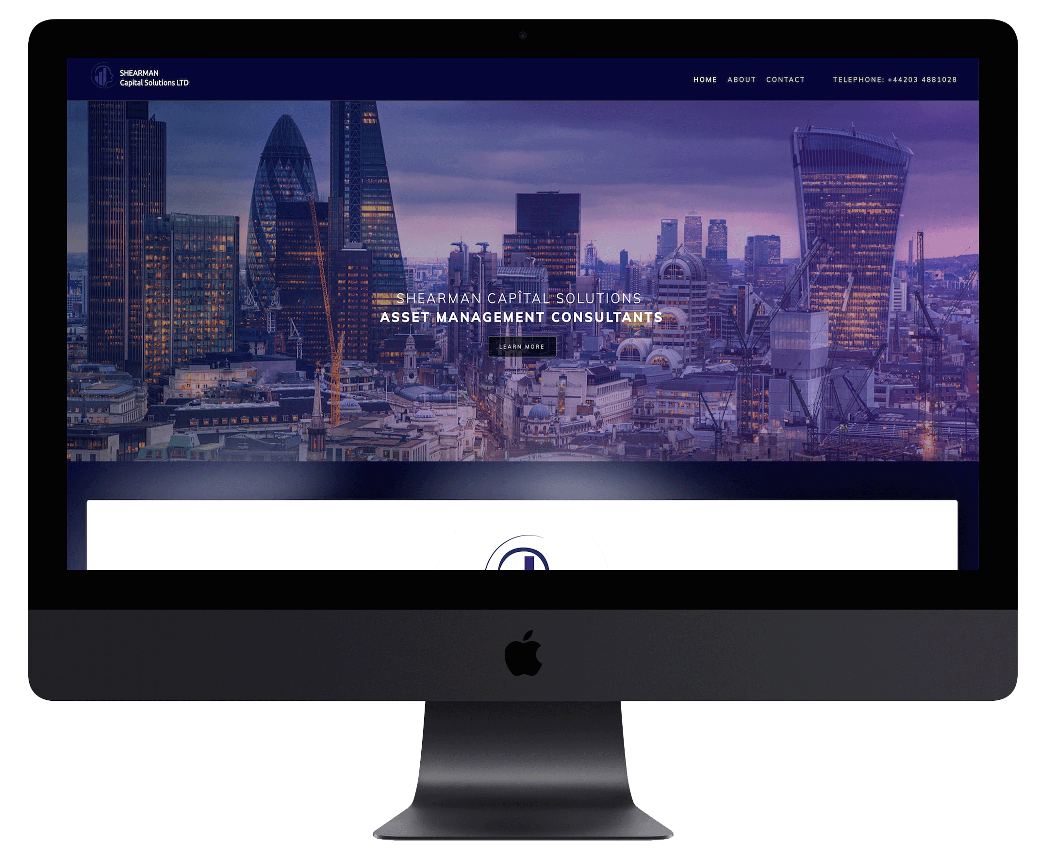 Classic look website designed by Funky Howler