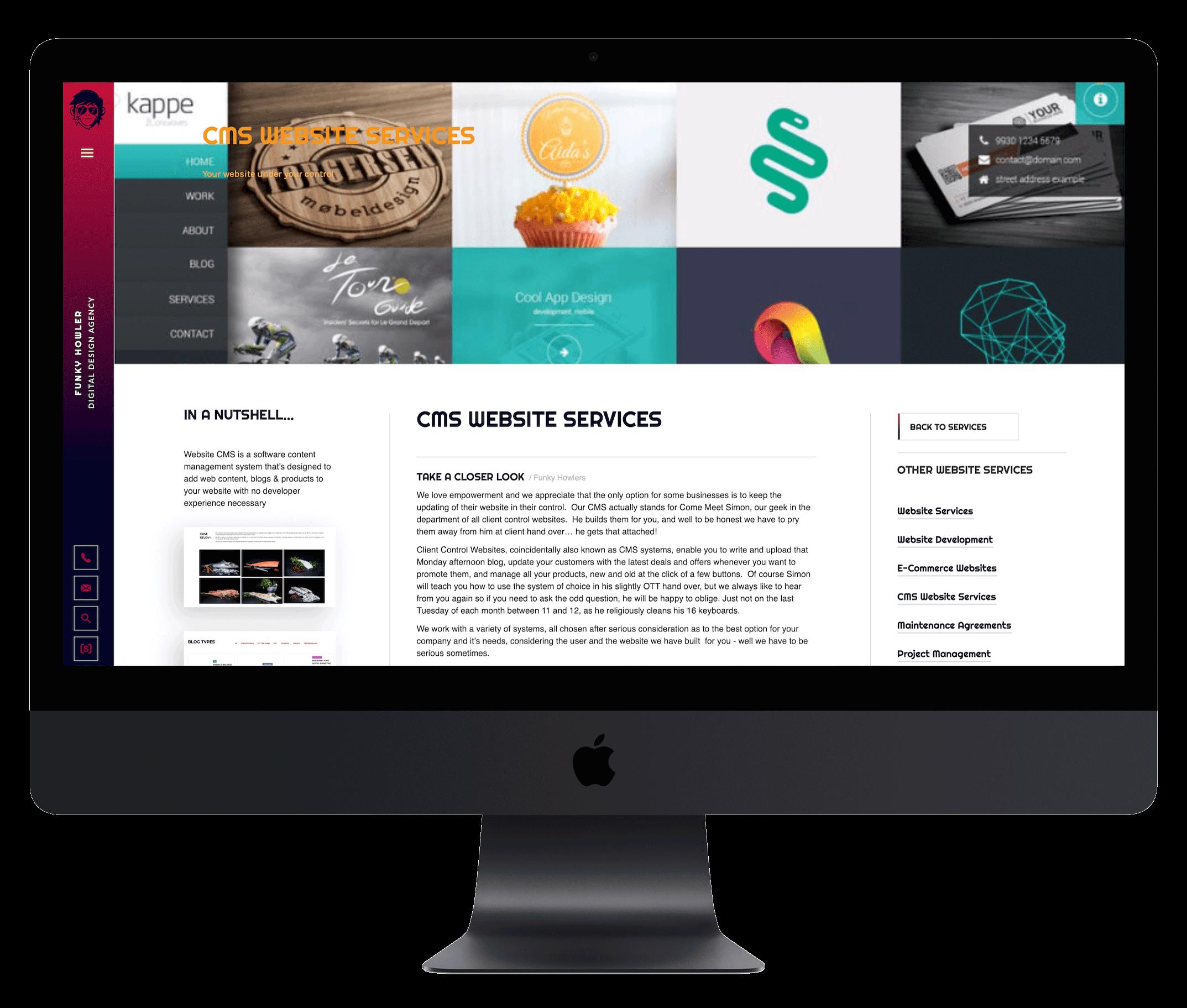 CMS built websites
