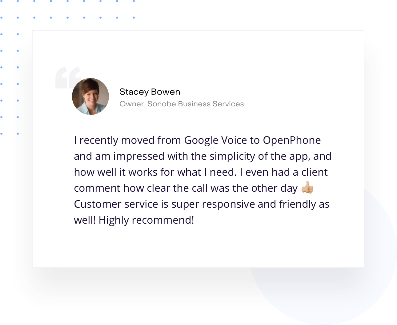 Google Voice Alternative - OpenPhone vs Google Voice