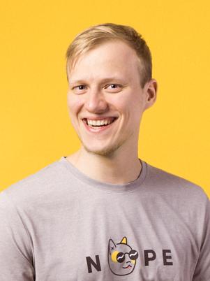 Team member portrait Pärt
