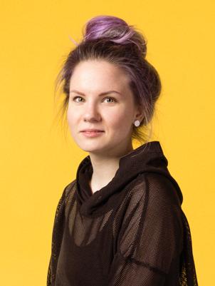 Team member portrait Nele
