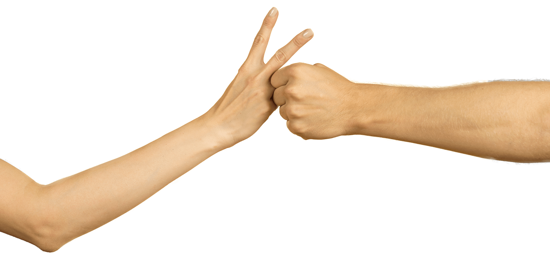 Photo of 2 hands making a snail shape, snail step 3