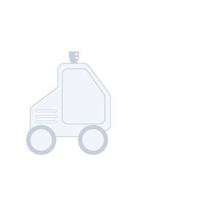Drawing of a forklift