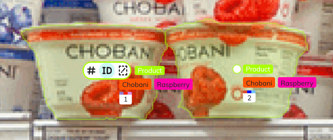 Grocery inventory with computer vision AI
