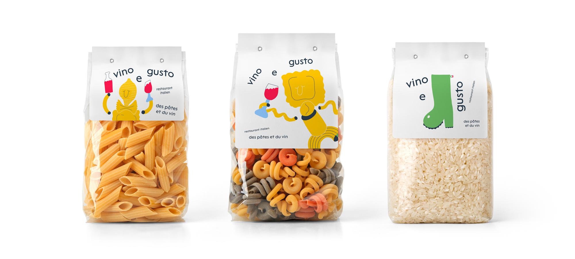 création illustration packaging identité visuelle restaurant rennes