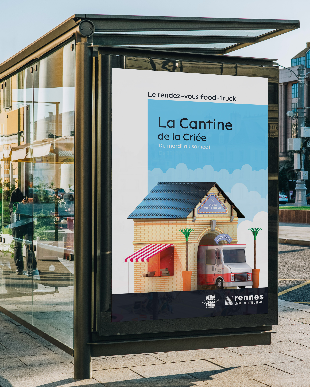 campagne publicité rennes affichage