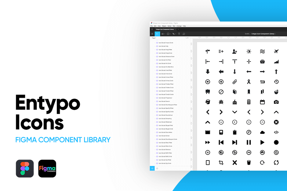 Enytpo Icons Figma Component Library Banner Image