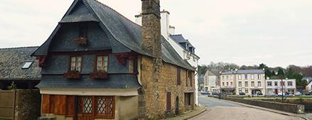 village du Faou (29)