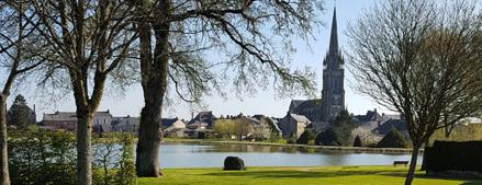 village de Le Pertre (35)