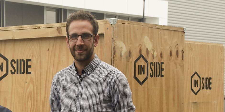Sébastien Honoré responsable de production d'Inside et utilisateur de Stopilo Planning