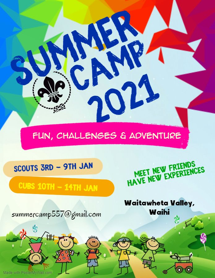 CNI Summer Camp - Scout Section
