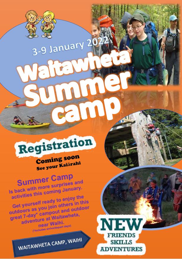 CNI Summer Camp - Scouts