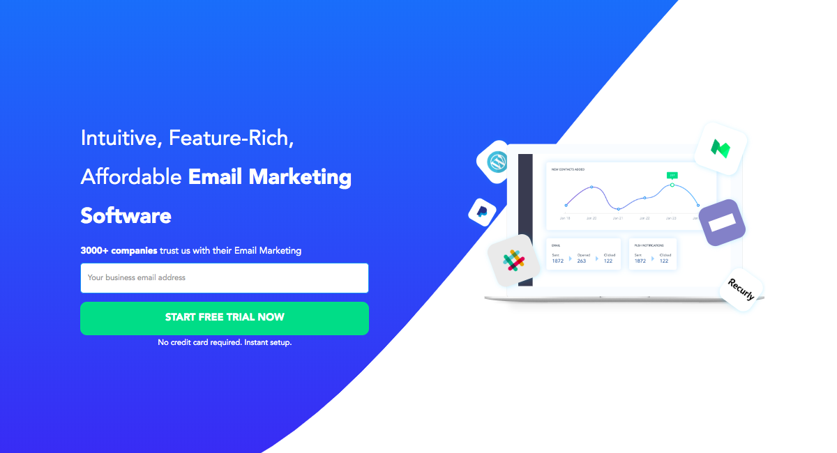 Email Marketing Software - SendX | Start Email Marketing Free Trial