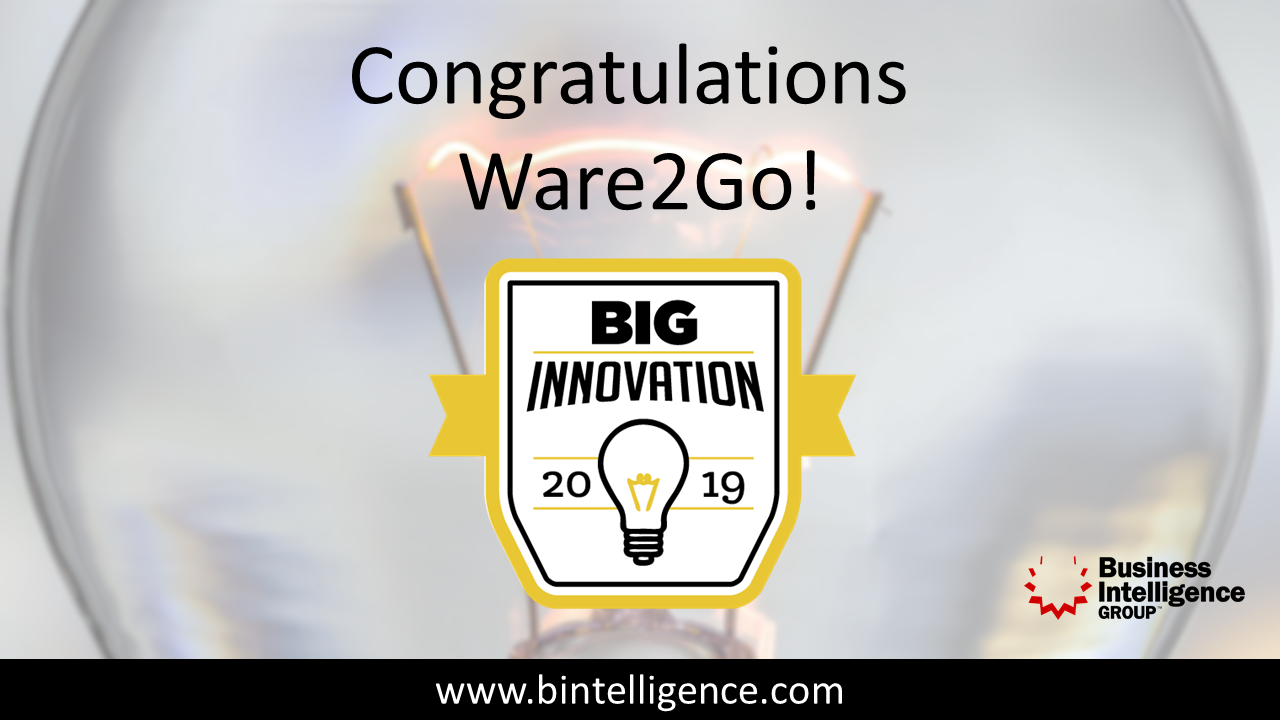 Ware2Go Big Innovation Award