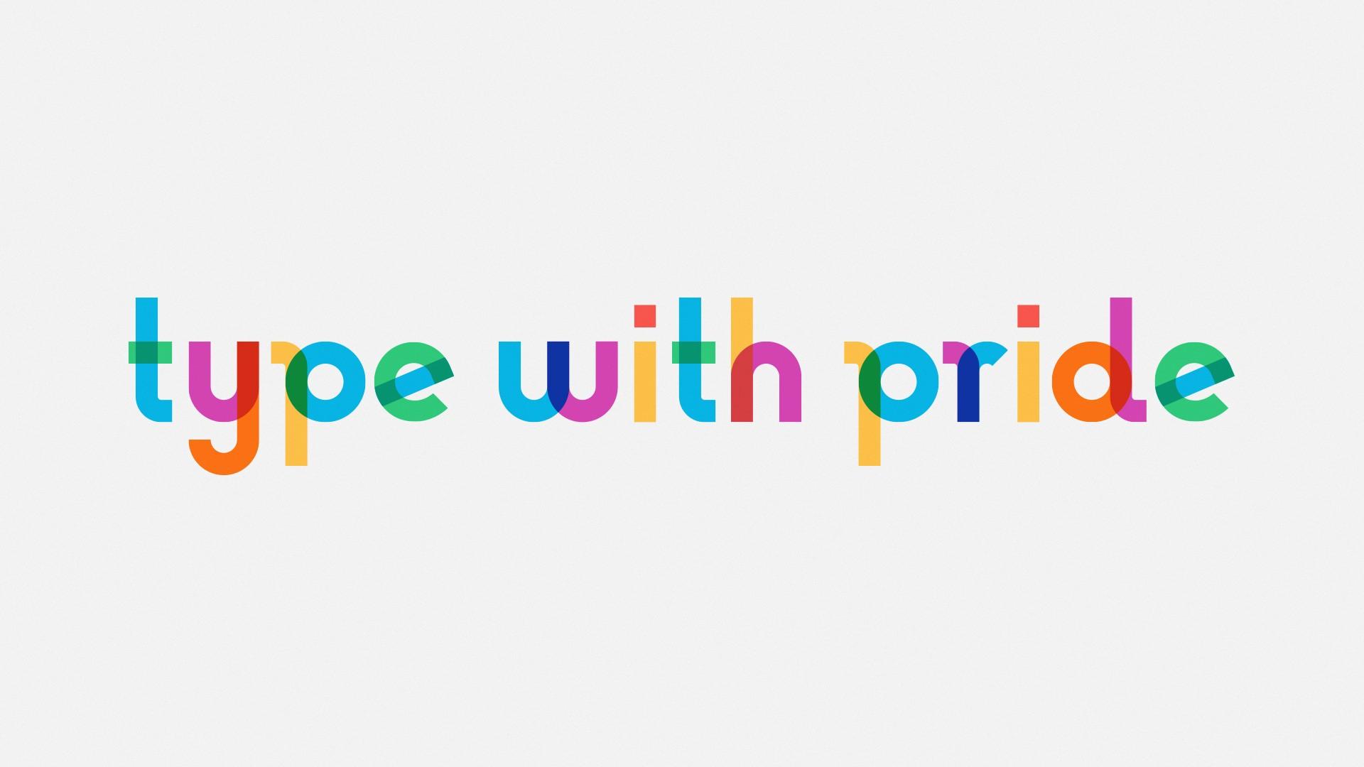 TypeWithPride Gilbert font