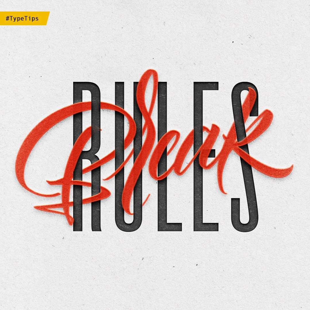 Lettering rules, how to draw letters