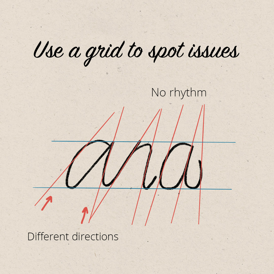 Typography tip: use a grid