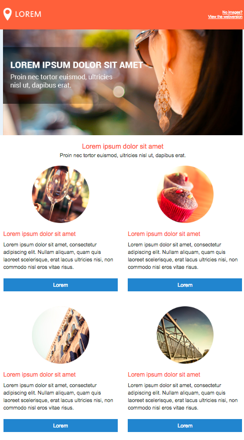 ecommerce email templates free download