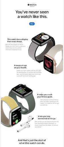 Apple Email Marketing for Retailers