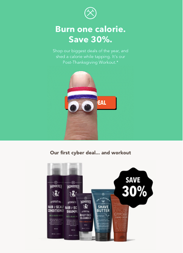 Cyber Deal Retail Email Campaigns