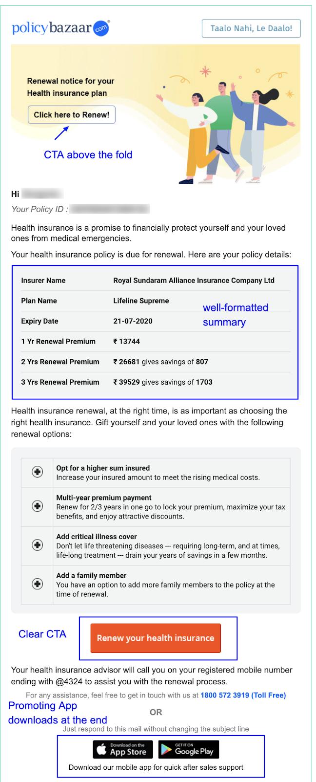 Renewal Email_Policy Bazaar