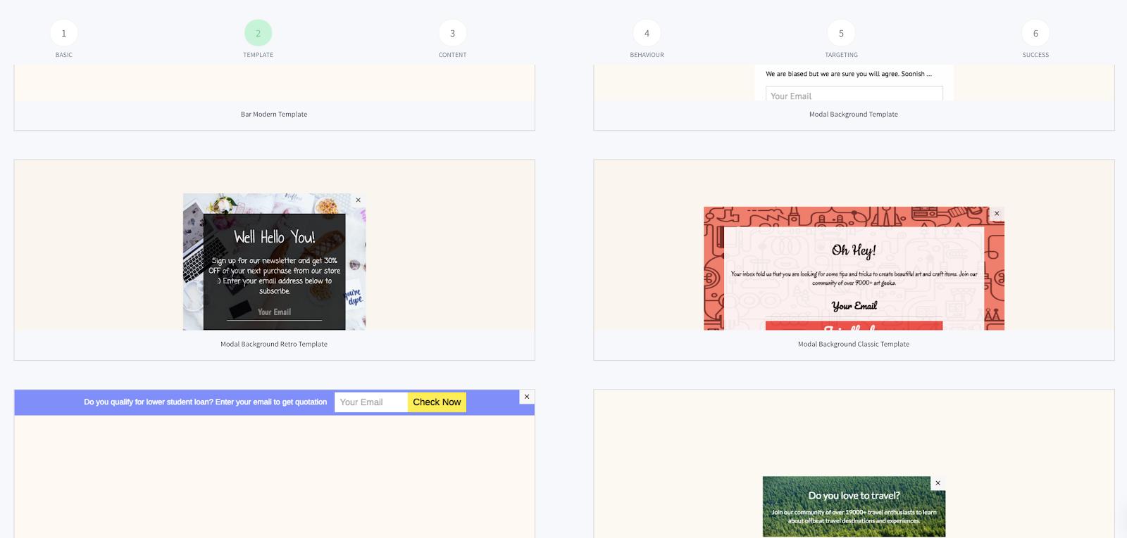 Newsletter Software_SendX Templates