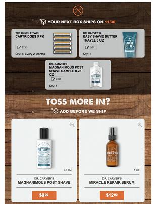 Dollar Shave Club Retail Email Marketing